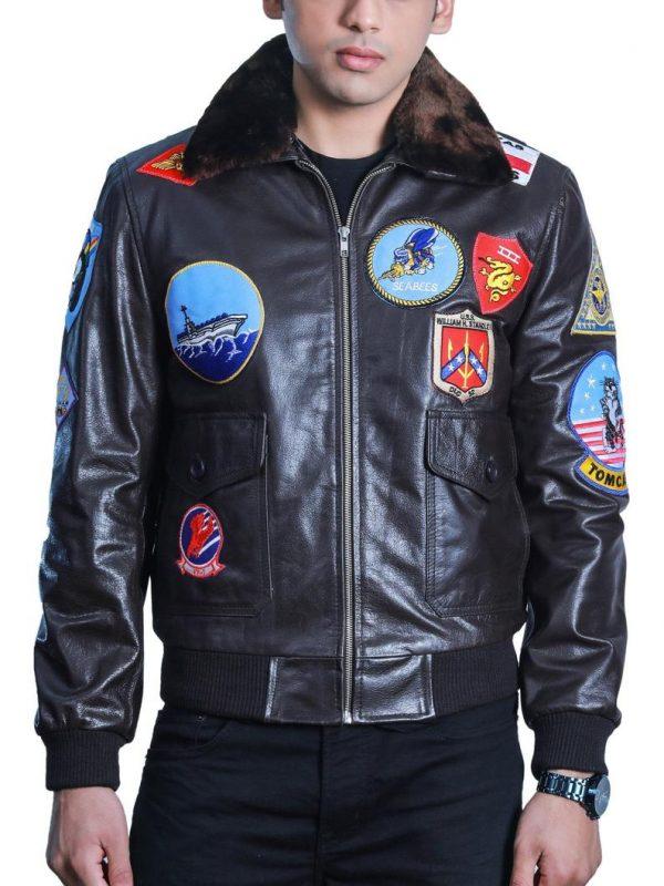 top gun maverick leather jacket