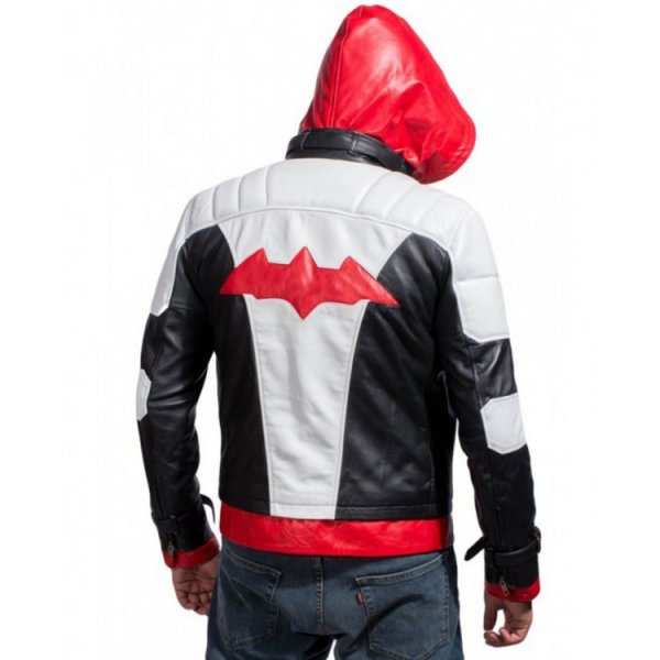 red hood arkham knight jacket